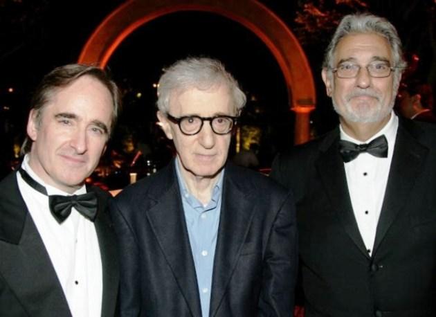 Conductor James Conlon, Woody Allen & Placido Domingo at LA Opera