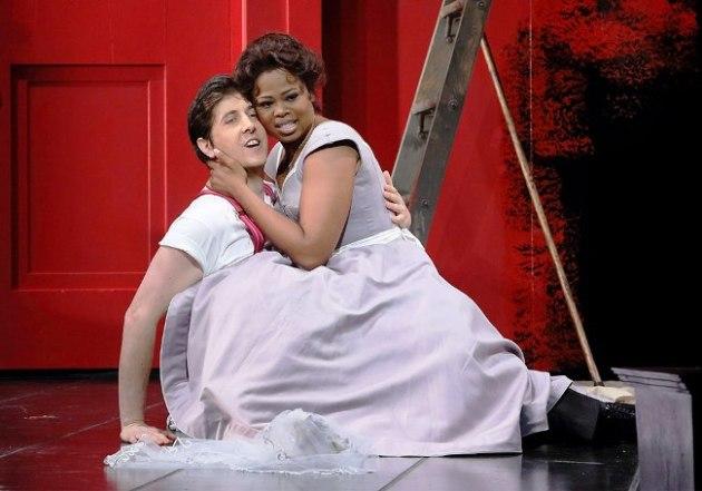 Robert Tagliavini (Figaro) with Pretty Vende  (Susanna)  starred in Marriage of Figaro