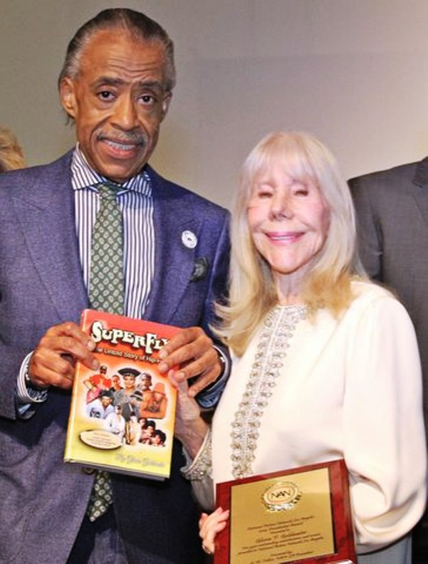 Dr. Al Sharpton with Author Gloria Goldwater