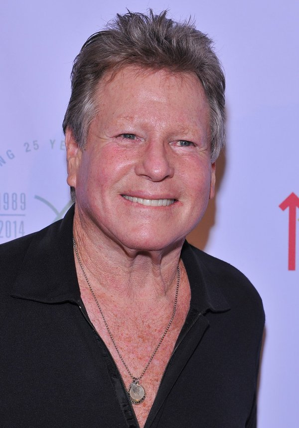 Ryan O'neal at Farrah Fawcett Foundation Gala