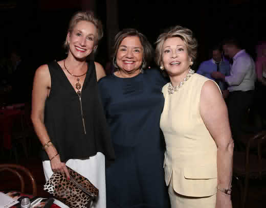 Stephanie Sperber, Fran Visco, Joyce Brandman (ToddWilliamson/WireImage)