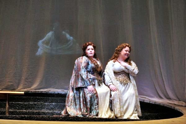 Jamie Barton & Angela Meade performing in Opera, Norma