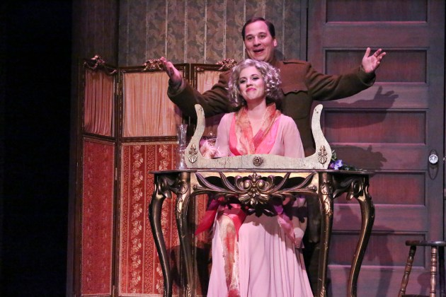 I Only Have Eyes For You stars Jared Gertner and Nikki Bohne at The Montalban Theatre in Hollywood