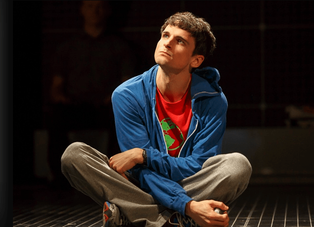 Tyler Lea as Christopher, photo by Joan Marcus