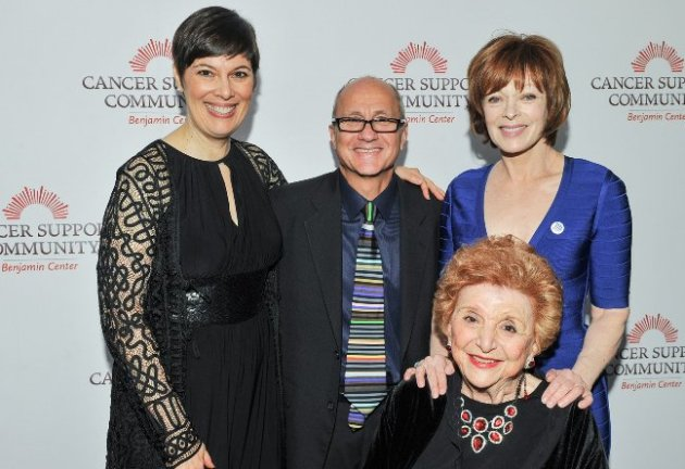 Exec. Director Julia Forth, Honorees Matthew Loscalzo, Frances Fisher & Joyce Green (Gilda Awards)