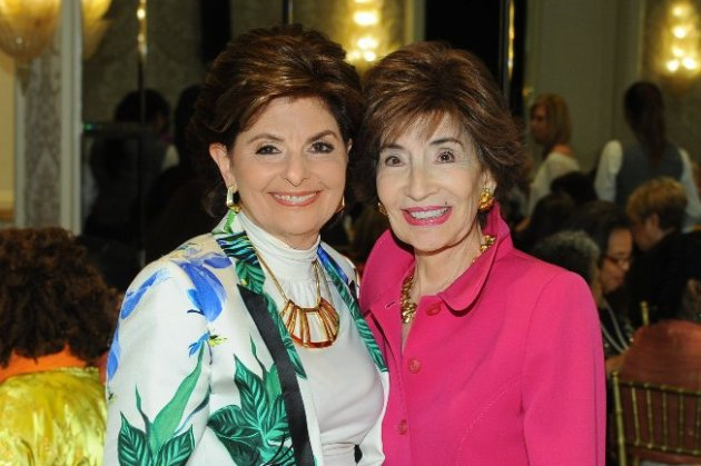 Attorney Gloria Allred with Lea Purwin d'Agostino at ABC Luncheon (photo credits - Vince Bucci)