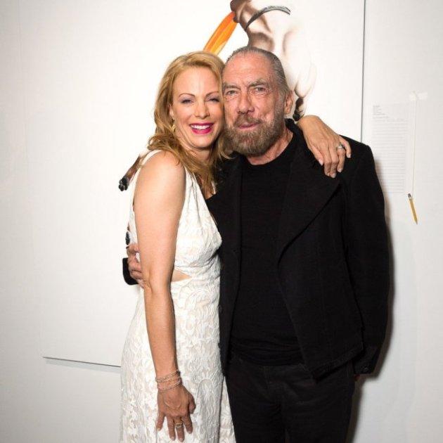 Alison Eastwood with John Paul De Joria at Eastwood Ranch Fundraiser