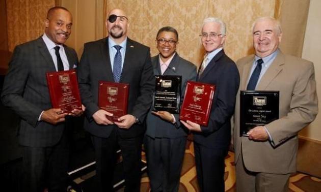 All honorees at Caucus American Spirit Awards (Photo credit: Steve Cohn)