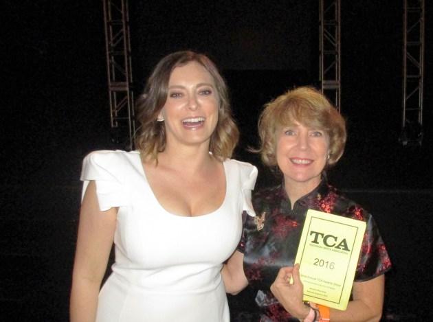 Rachel Bloom, Crazy Ex-Girlfriend star, with Margie Barron