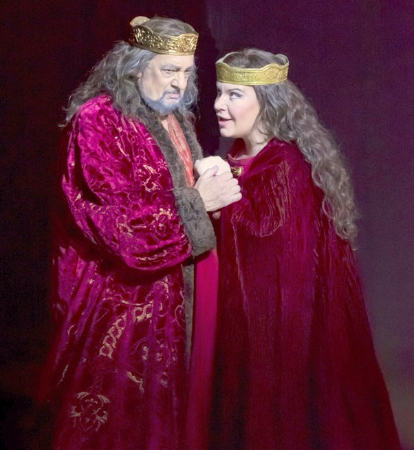 Placido Domingo & Ekaterina Semenchuk - Stars of Macbeth (Photo Credit - LA Opera)