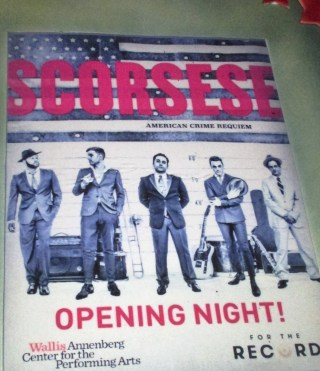 Scorsese opening night