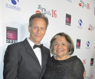 Steven Webber and Fran Visco (photo by Margie Barron)