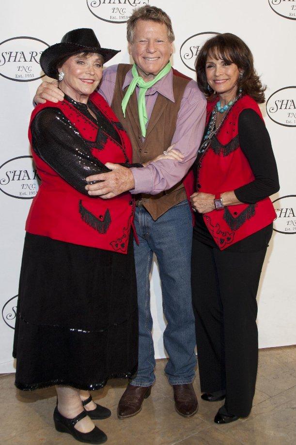Joanna Carson, Ryan O'Neil & Corrina Fields at SHARE Boomtown Show (Photo Credit - SHARE)