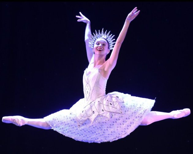 Ballet Star Skylar Brandt performing in The Sleeping Beauty (Photo Credit - Vince Bucci)