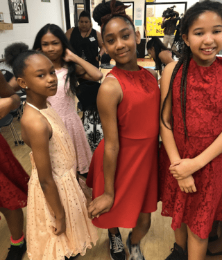 Valentine S Day Dance Dress Donations At The Boys Girls Clubs Of