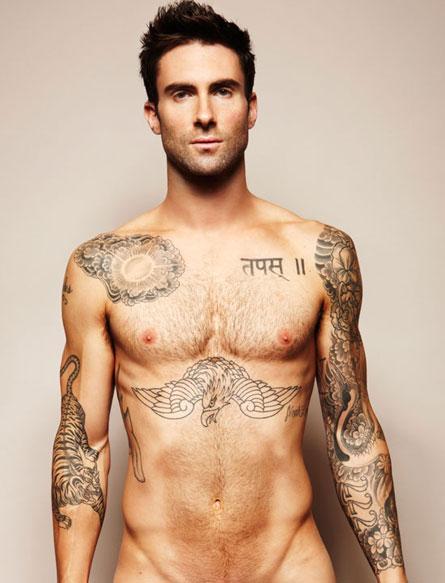Adam Levine Naked