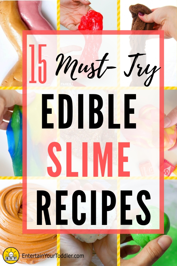 How to make edible slime with extra gum