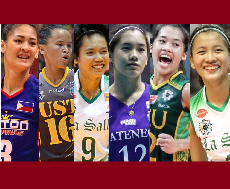 Top 50 UAAP Women's Volleyball Players of Season 79 for the Year 2017