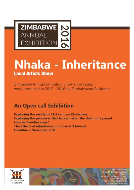 Annual Open Call Exhibition National Gallery of Zimbabwe -mosaic