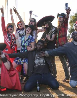So... Oppikoppi & Rocking the Daisies take place on same weekend this year !