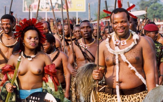 In Case You were Wondering, King Mswati III Now has the Legal Right to deflower 14-year-olds