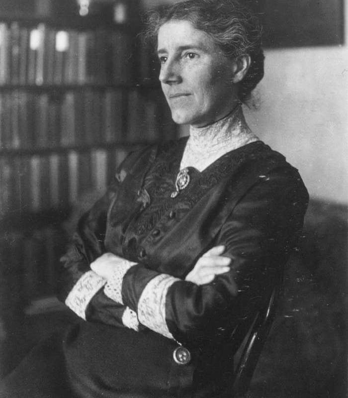 Novelist Charlotte Perkins Gilman