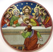 The Last Supper, by the Venice and Murano Glass and Mosaic Company, c.1880