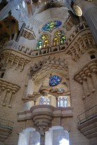 Gaudi's great masterpiece of building is a wonderful imaginative combination of old and new ideas and forms