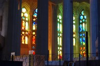 Every strong colour in the spectrum can be found in the windows of La Sagrada Familia