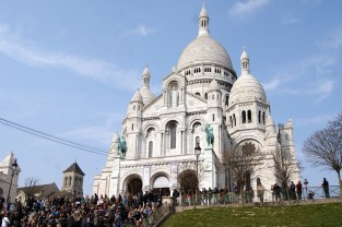 Sacre Coeur was built by private subscription as a penance for a century of moral decline after the French Revolution of 1789