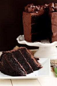 Model for Devil's Food Cake