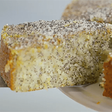 Double Lemon Drizzle Cake, Delia Smith