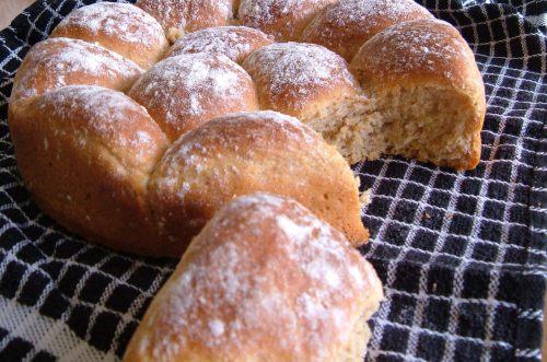 Potato Bread in a round