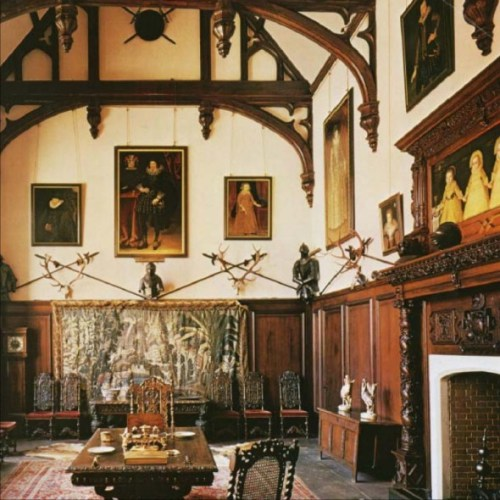 Helmingham Hall, interior