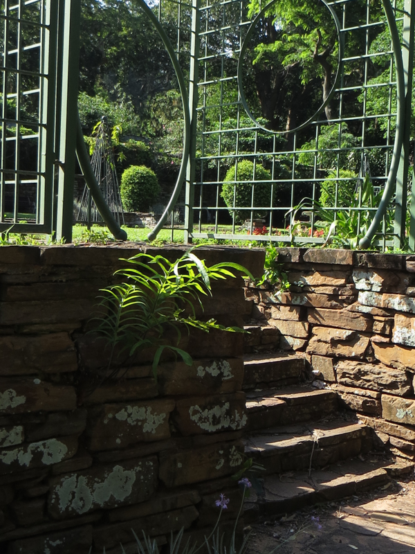 Steps into the Garden of the Senses