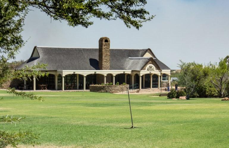 The restaurant in the Karoo Desert Botanic Gardens