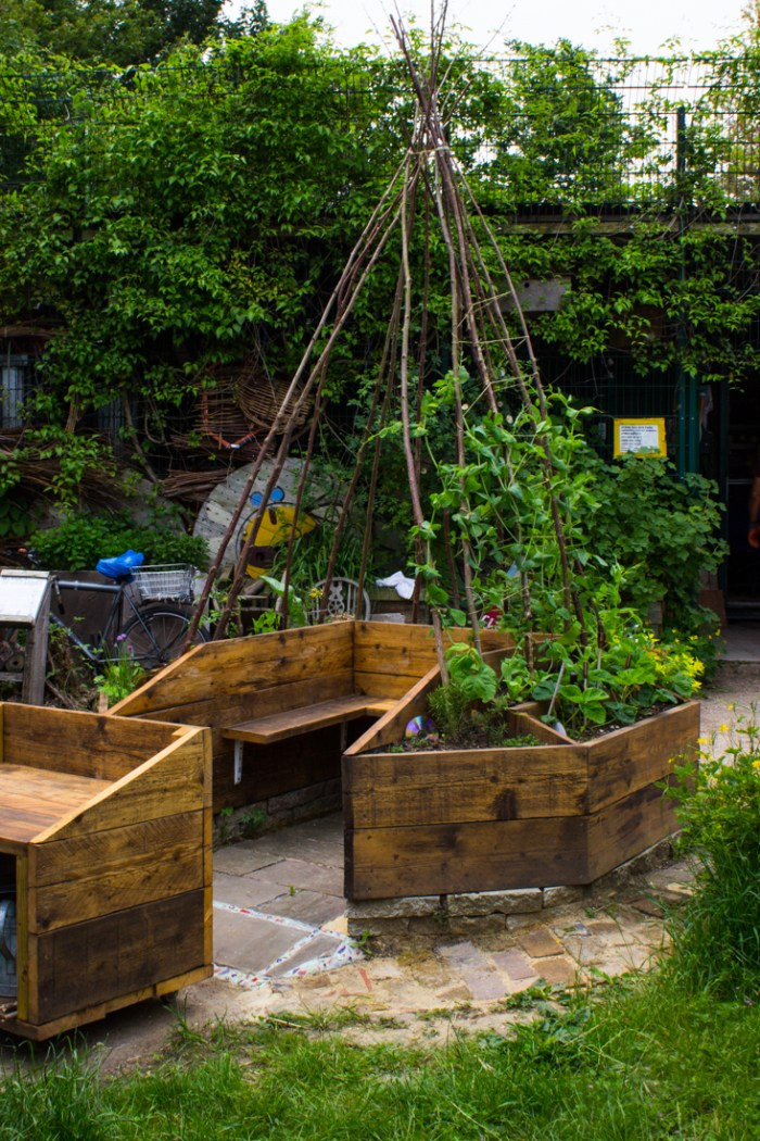 A growing wigwam for schools
