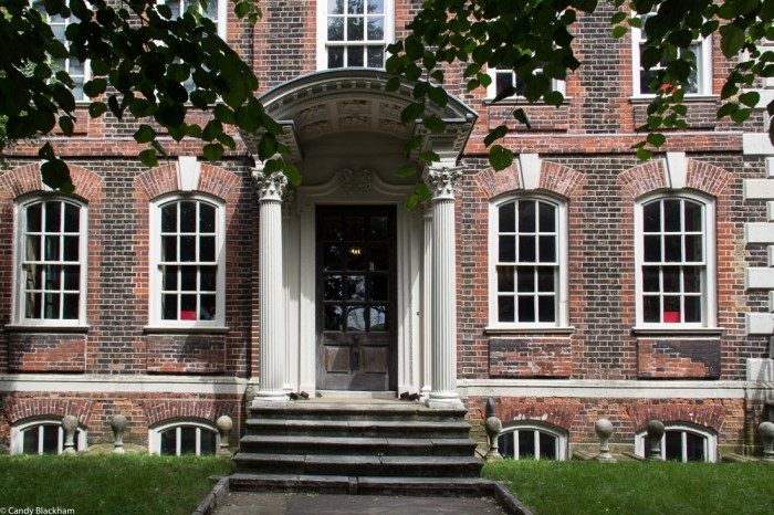 Rainham Hall entrance
