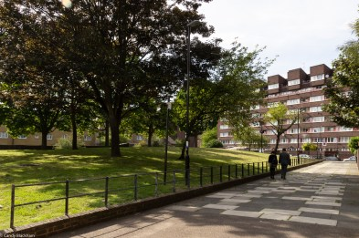 The green space close to Grove Street