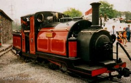 The Prince, 1863, used in Festiniog