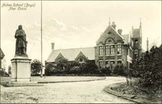 Haberdashers' Askes' Boys School, c.1910 (www.ideal-homes.org.uk)