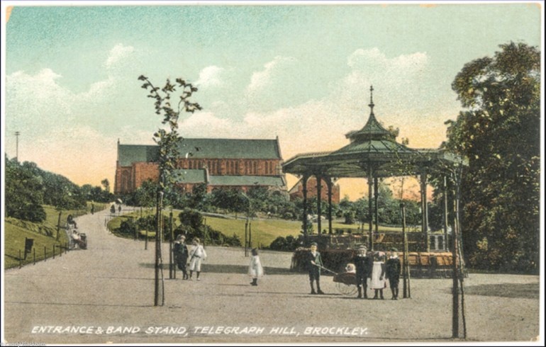 Telegraph Hill Park in Lewisham