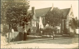 St Catherine's Church, c.1910 (www.ideal-homes.org.uk)