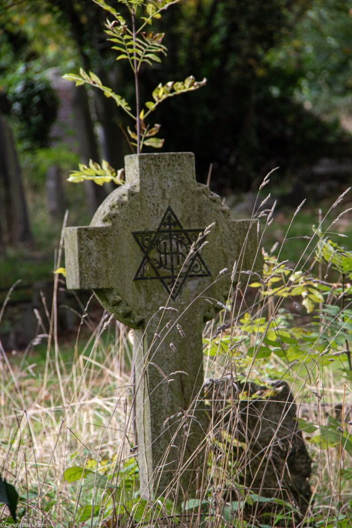 A curious gravestone in Ladywell Cemetery in Lewisham