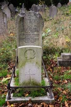 Kipling Gravestones in Ladywell Cemetery in Lewisham