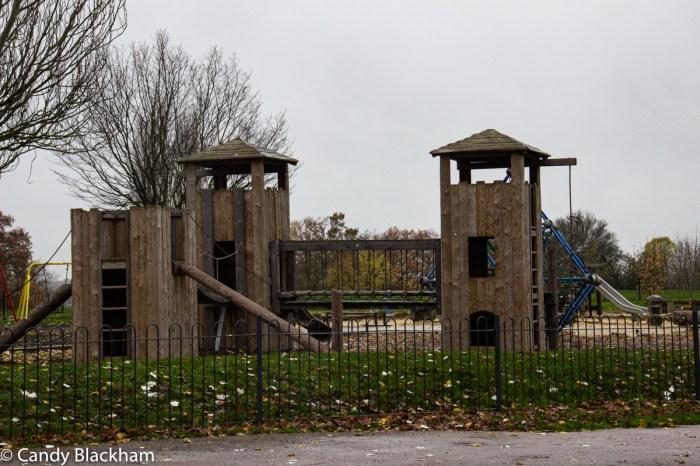 Children's playground in Mountsfield Park