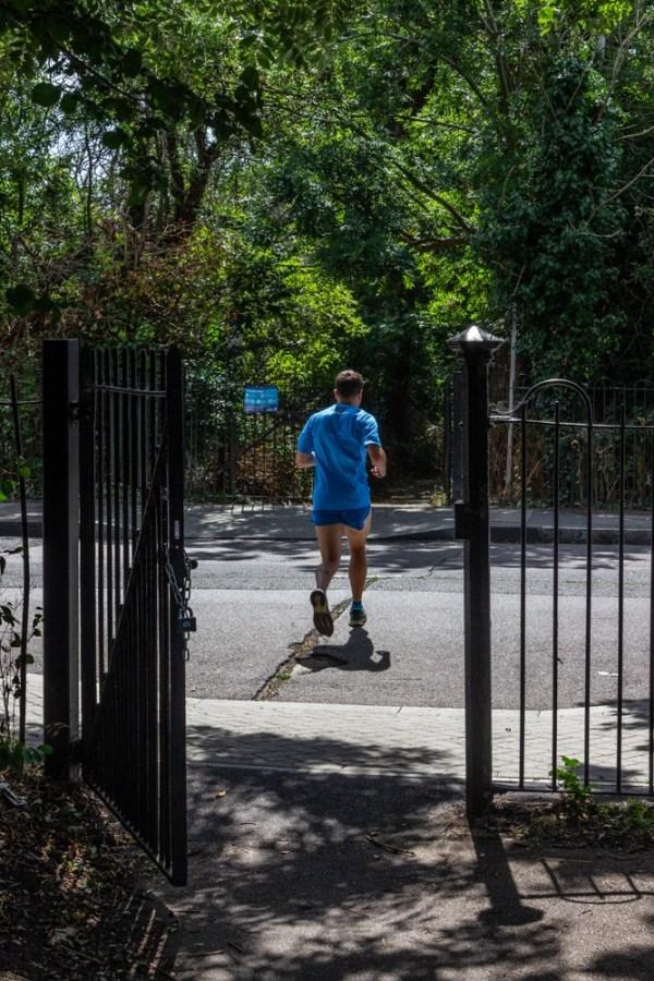 Downham Woodland Walk - keen runner