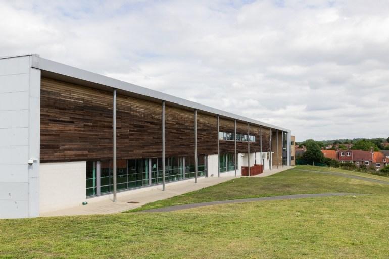 Downham Health and Leisure Centre in Downham Fields in SE London