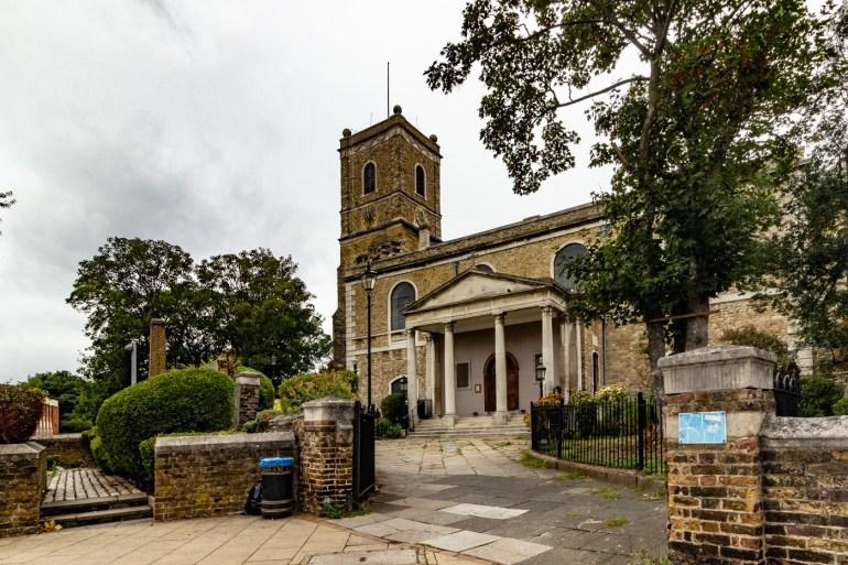 St Mary's church in Lewisham
