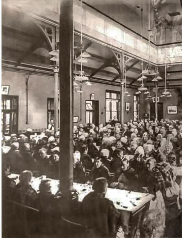 Workhouse early 1900s, www.ideal-homes.org